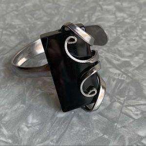 Funky, adjustable fork bracelet